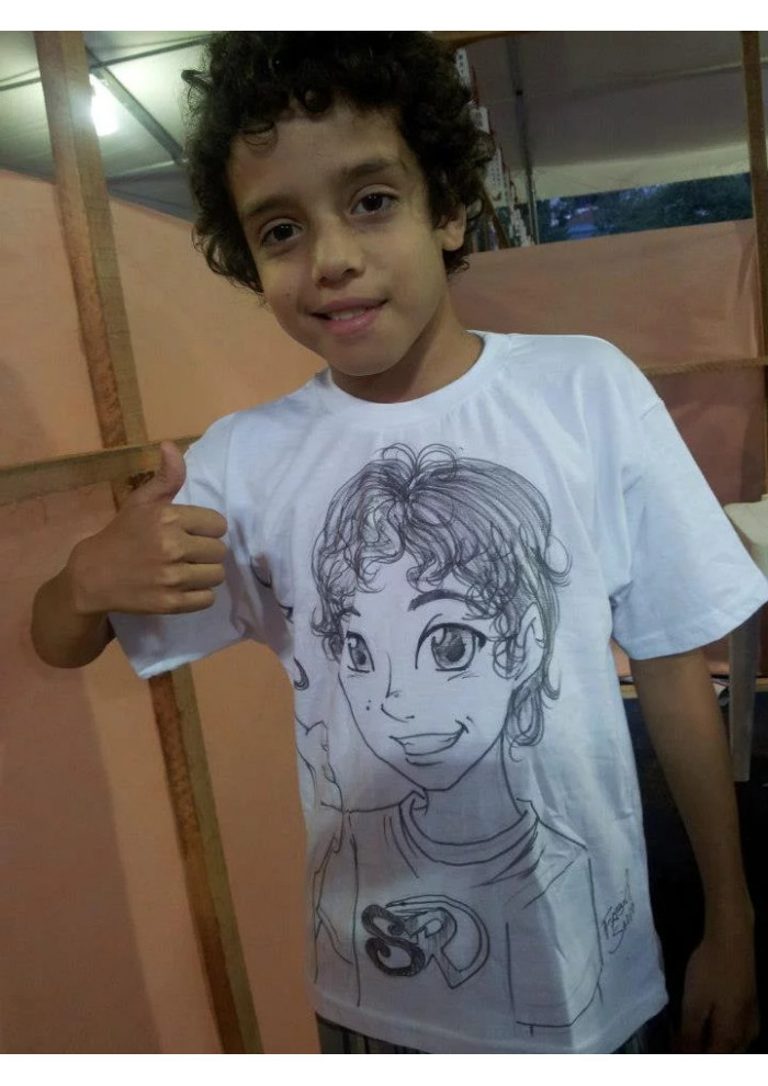 Caricatura em Camiseta